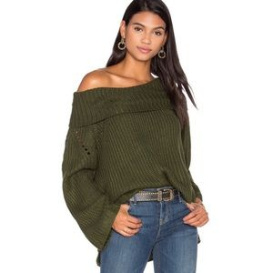 ELLIATT Camo sweater in green